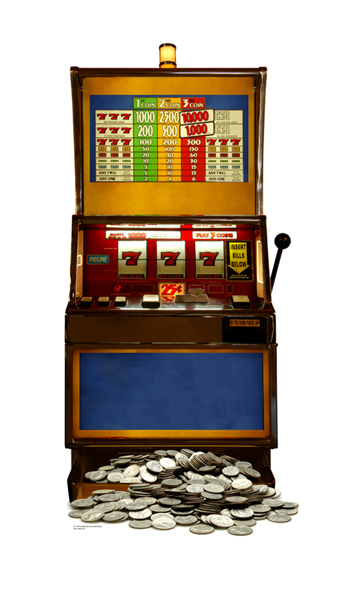 Machines a sous : les types de slots