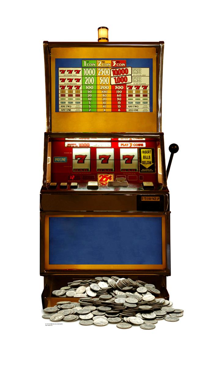 Machines a sous : les types de slots