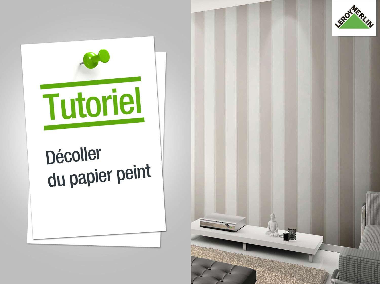 Comment enlever papier peint - Comment enlever papier peint ...
